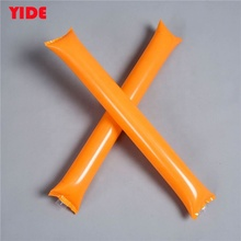 Custom Shape Inflatable Cheering Thunder Sticks With Company Logos And Branding