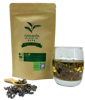 Cha Core Green Tea premium healthy tea Organic Type Chinese tea Zip Lock packing bag Net Weight 30 g.