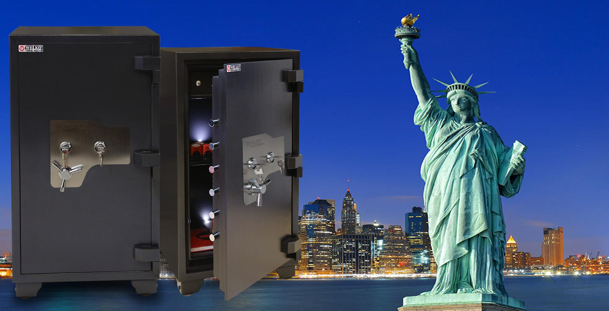 New Deling Security Cash Money Camera Key Electronic Safes - Newest design - High locking technology - From WELKO safes