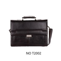 portfolio bag/document bag in genuine leather with detailed stitching