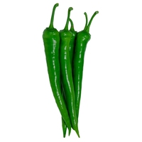 Fresh Frozen G4 Green Chilli