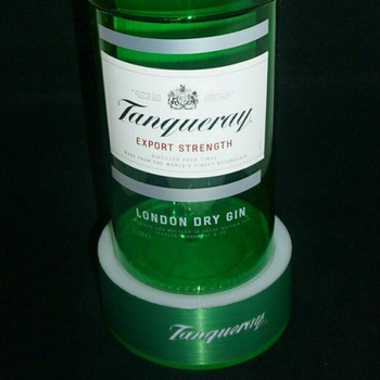 LED base, tanqueray LED base, tanqueray bottle display