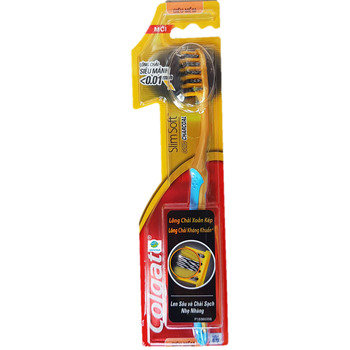 Cheaper Charcoal Gold Toothbrush Exported to US