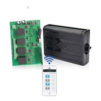 Remote and WIFI Control Four--channel Wireless Intellect Receiving Control YET404-WiFi