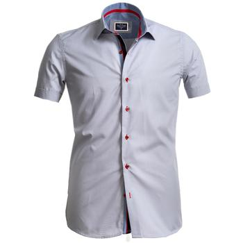 White Short Sleeve High Quality  Dress Shirt