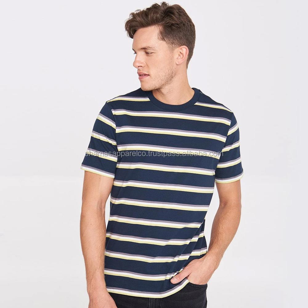 2019 Summer polo tshirt mens casual t shirt striped t short sleeve polo t shirt