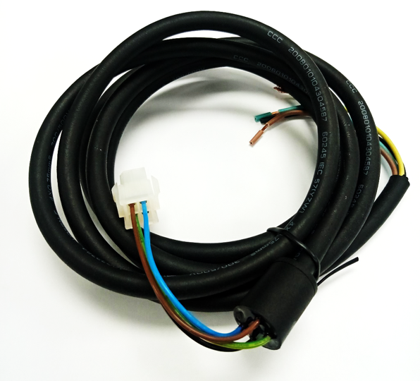<strong>H05RN</strong>-F 4*0.75 smm power cord for electronic lock 1.0m