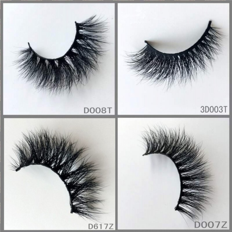 200 New styles 3d mink eyelashes ,flirty look and soft strong cotton band 3D Siberian Mink Strip Eyelashes