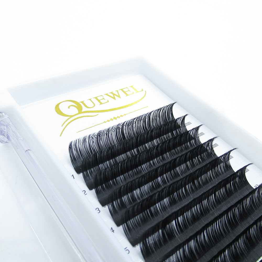 Mink Individual Quewel Brand Eyelashes Package Box With Best Quality Custom Package 16 <strong>17</strong> 18mm