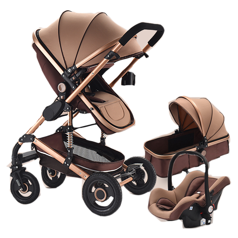 sale cheap travel system luxury baby stroller 3 in <strong>1</strong> with carrycot and carseat