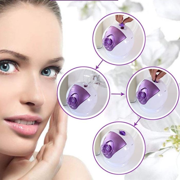 wholesale home use beauty device  hot spray egg ion face evaporatort beauty device