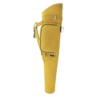 TRADITIONAL SIDE/HIP/BELT/WAIST SUEDE LEATHER ARROW QUIVER