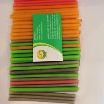 Rice Straws/ new design food grade edible rice drinking straw/ Boba straws