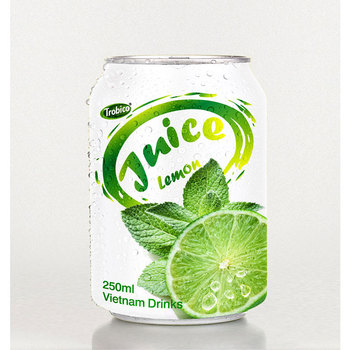 Viet Nam 250ml short canned fresh Lemon Juice