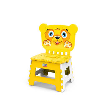 pp pLASTIC BABY CHAIR WITH BACK DOG PICTURE KUTE MULTI low price high quality