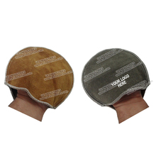 hand wear bowling ball cleaner bowling leather shammy pad bowling leather pad