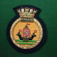 Handmade Ship Badges For Pipe band Army Pakistan Bullion Wire Low Price High Quality