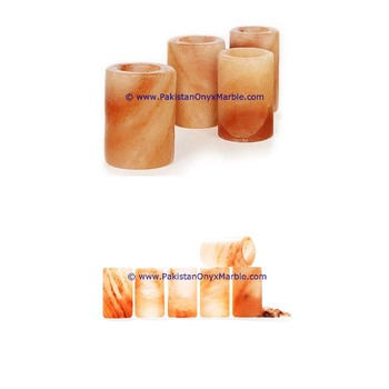 Heavy Base himalayan salt shot glasses cups handcrafted drinking glass tequila shot glasses