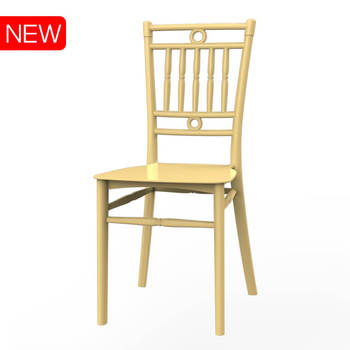 Plastic PP like bamboo chair No.01222 Duy Tan Plastics Manufacturer made in Vietnam cheap price
