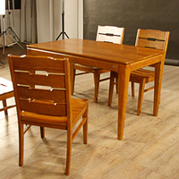 new products modern luxury style wooden dining table set