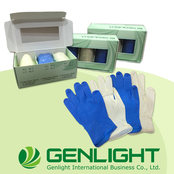 Good service non-sterile OEM Exam Disposable Gloves Latex