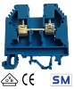 Screw cage blue terminal block for a DIN rail SM Strojkoplast VS 10 PA N