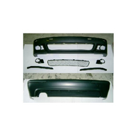 CAR PARTS PP FRONT BUMPER+REAR BUMPER FOR BMW 5 SERIES E39 4D 2000-2003 BODY KIT TUNING