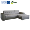 Cheap modern corner sofa bed FENIKS with sleep function EU quality STYLE eco leather color fabric optional