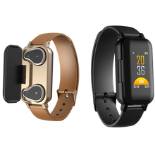 New <strong>Smart</strong> <strong>Watch</strong> Band with Dual Wireless Tws Earphone For Mobile Phones