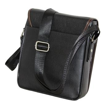 Sling Bag Leather PU Messenger Bag Nice Quality Black
