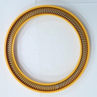 Cryogenic ptfe spring energized oil seal for valve