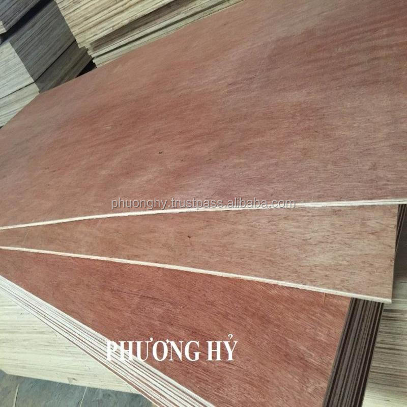 Plywood High Quality Thickness 2~30mm Grade AB Size 4x8 Cheap Price From Vietnam Factory