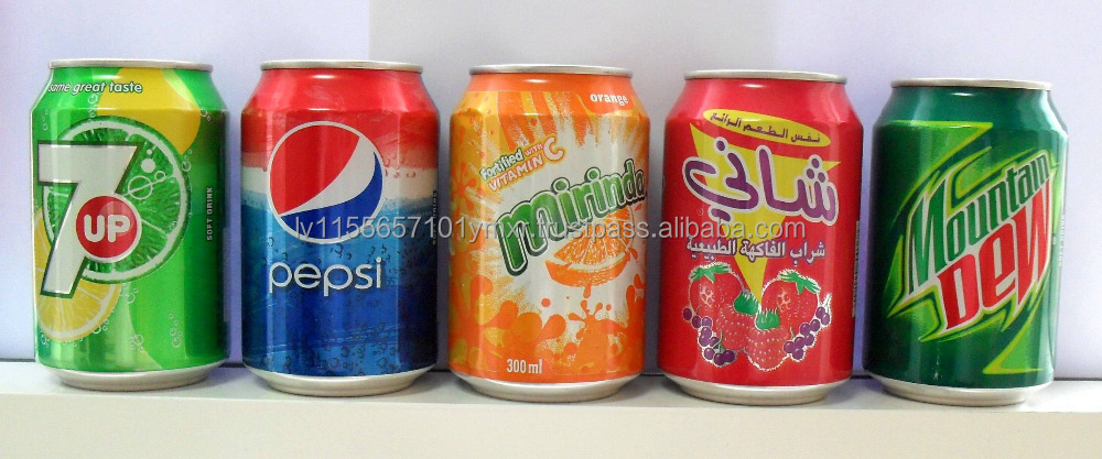 Mirinda and Pepsi 330ml Soft Drinks end of year offer
