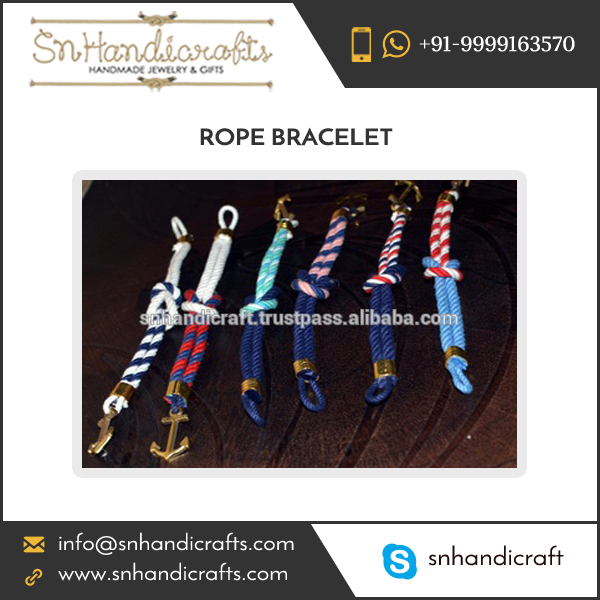 Cost-Effective Bulk Supplier of Silk Rope Bracelet Wholesale Price
