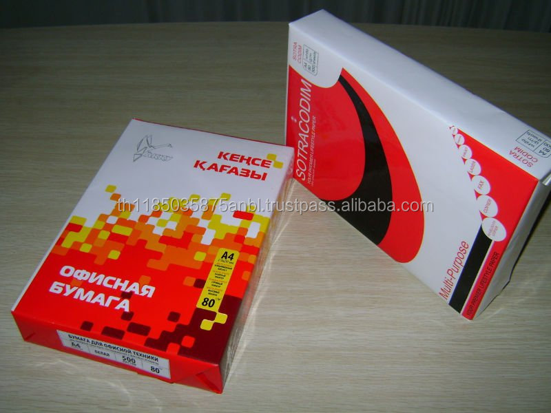 grade AA A4 Copy Paper 80gsm 75gsm 70gsm for Sales/Exports