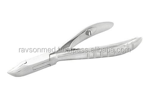 "Professional 4.25"" Full Jaw Cuticle Nail Nipper Perfect for Salons & Home/ Beauty Care Instruments"