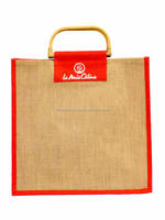 Popular shopping jute bag made In Indian