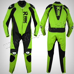 Motorbike Leather Suit Motorcycle Clothing Leather Racing Suit