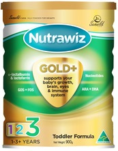 Nutrawiz Gold + Toddler formula 900g Australian Made Premium Baby Milk Powder
