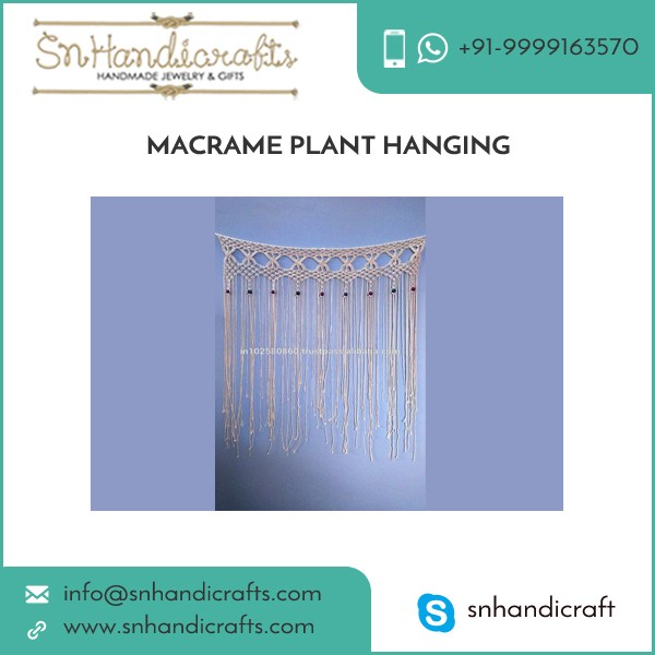 100% Effective and Efficient Macrame Plant Hangers from Bulk Trader