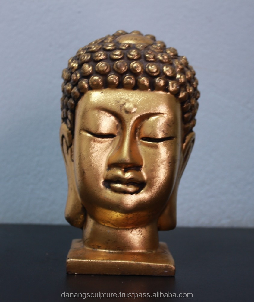 Resin Buddha bust statue DSF-HR21