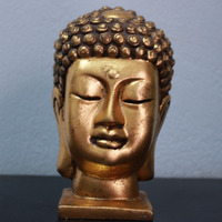 Resin Buddha Bust Statue DSF HR21