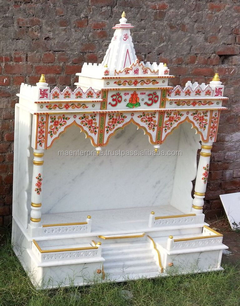 Indoor Marble Temple For Home Mandir - Buy Marble Temple For Home ...