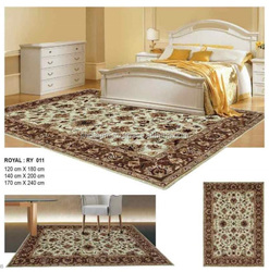 Trendy handtufted pure linen wall to wall carpets for hotel rooms