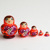Mix of 5 pcs Russian Matryoshka dolls, 4.5cm Matreshka, mini doll, MS0501