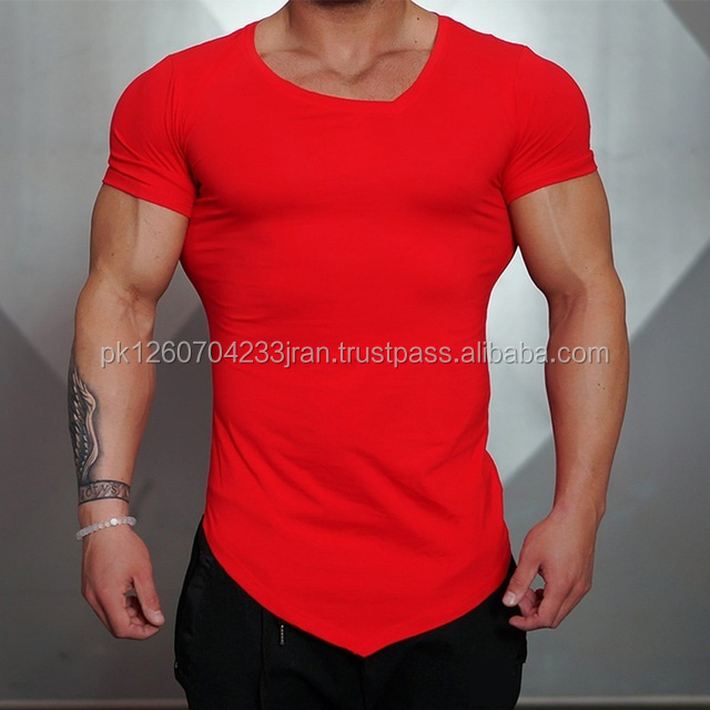 Gym Fit / Skin Fit O Neck T-shirt / Customize Your Own Design