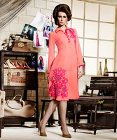 Brands In Kurtis In India | Indian Pakistani Embroidery Georgette Kurtis