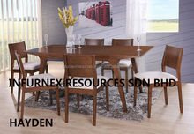 hayden dining set,dining table set,home furniture,dining furniture with table and chairs