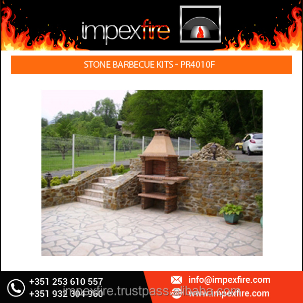 New Arrival Good Look Stone Barbecue Kits for Home use