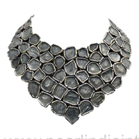 Direct Factory Oxidised Handmade Silver Jewelry Delectable 925 Sterling Silver Jewellery Wholesale Necklace